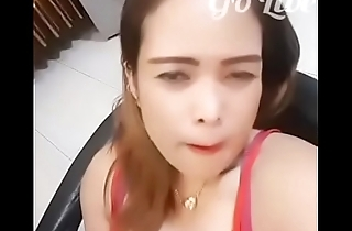 Big breast beauty anchor  live in the dialogue &mdash_&mdash_go live app