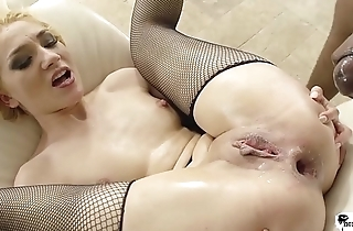 HER LIMIT - Romanian blonde Luna Melba enjoys rough anal &amp_ facefuck with BBC