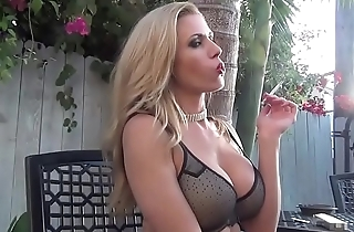 Hot Girl Smoking