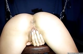 Large Labia View from Move backwards withdraw from - Big Pussy Lips Rubbing