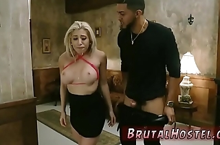 Bondage horse and double anal Big-breasted light-haired sweetheart
