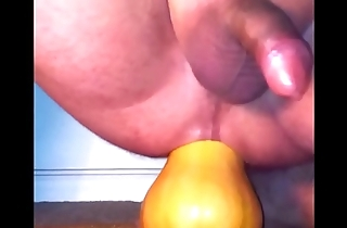 Ride on pumpkin again with double cumshot