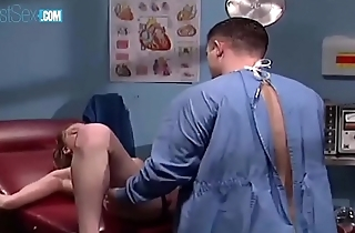 Horny Nurse Aurora Snow Jumping On Patient'_s Big Cock
