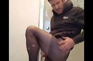 ryan in pantyhose lovely cock