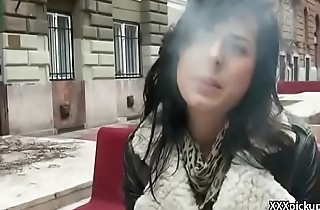 Public Fuck - Tourist Seduces Teen European Forth Fuck For Money 19