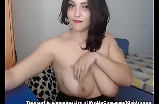 MILF With Big Tits Having Fun On Cam...