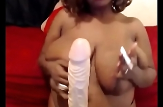 Ebony smoking dildo - Pumhot.com