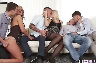 Bisex European lovers have fun