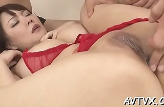 Wicked fucking for cute oriental playgirl