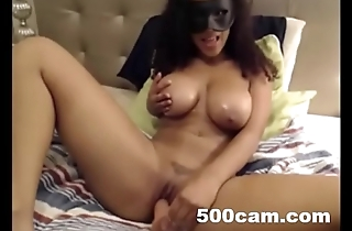 Hot Masked Cam Girl pt. 5- 500cam.com