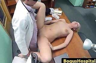 Cockloving euro pleasured at the end of one's tether doctors prick